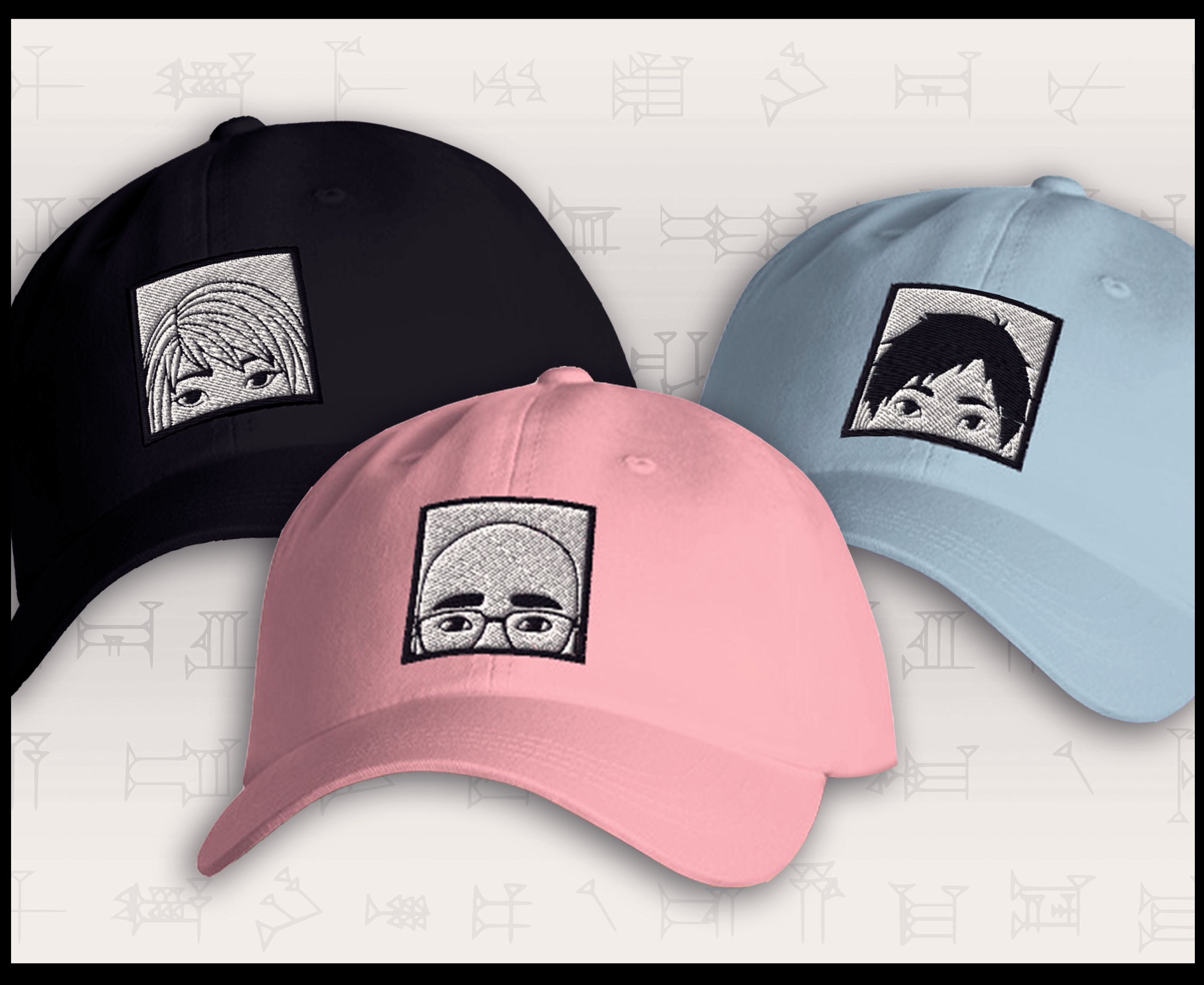 All new hats!