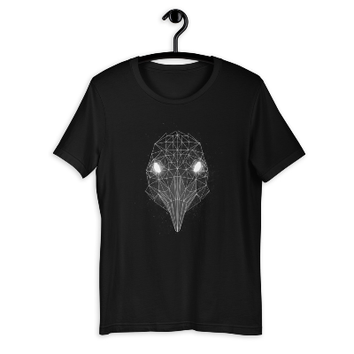 Nergal Unisex T-Shirt B/W