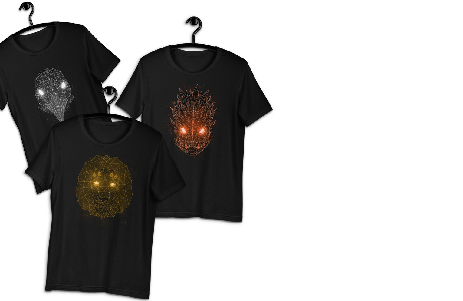 Want to sport your Patron God on a shirt? We've got you covered!