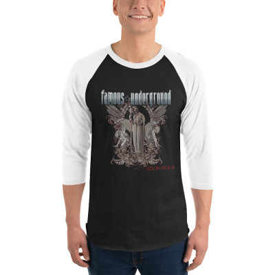 Necropolis  Raglan T-Shirt