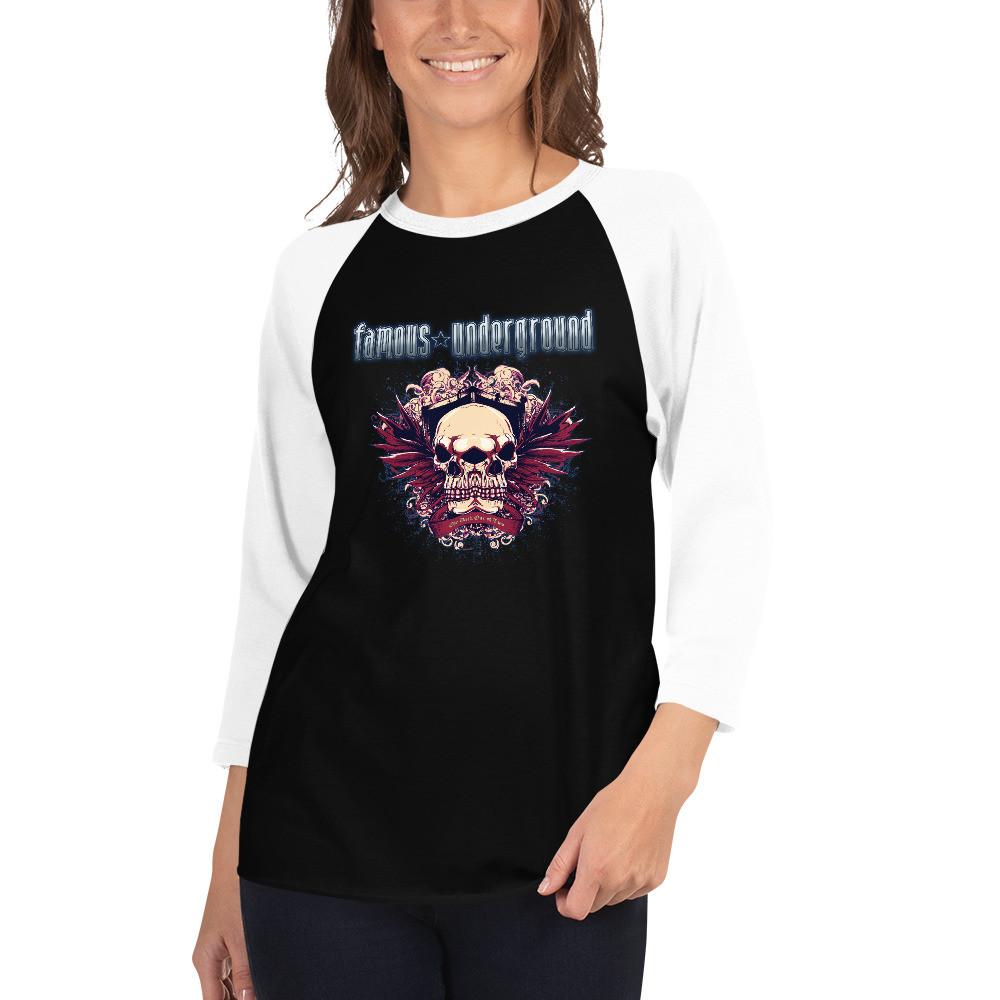 The Dark One of Two Raglan T-Shirt