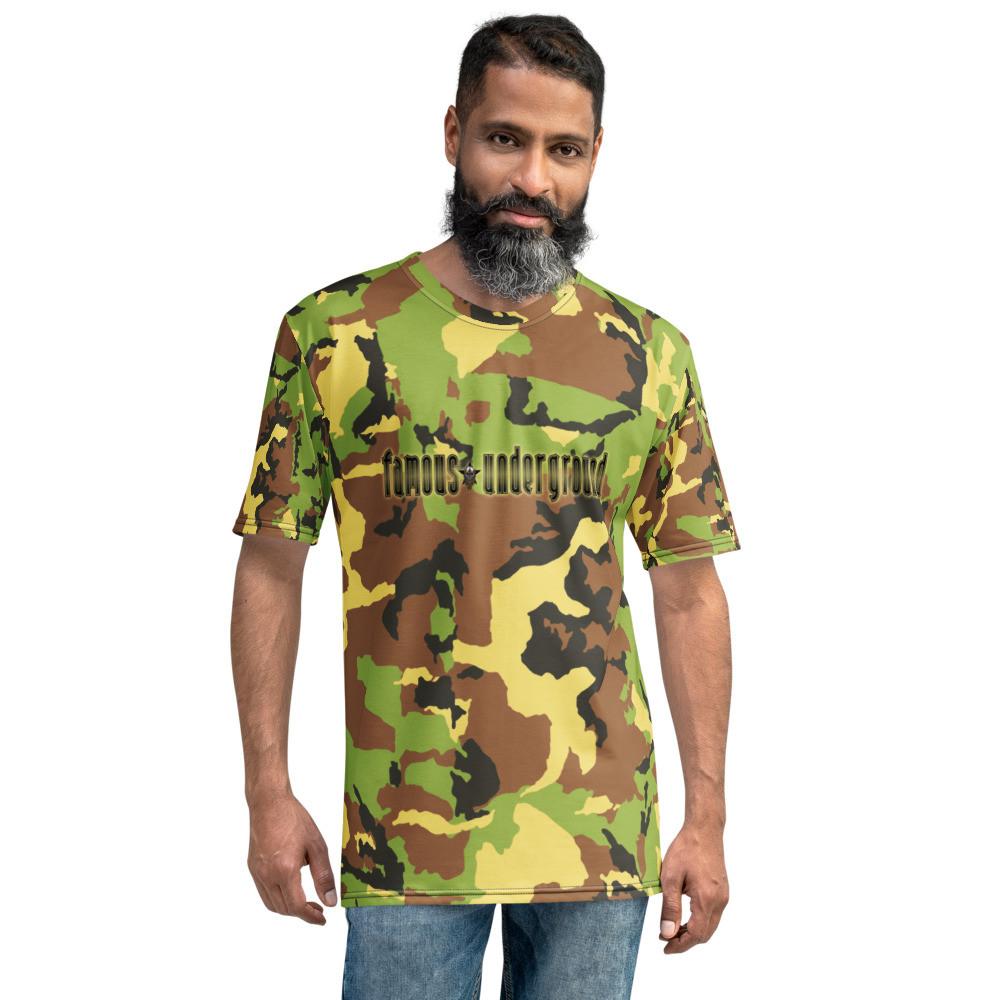 Famous Underground Camo T-shirt