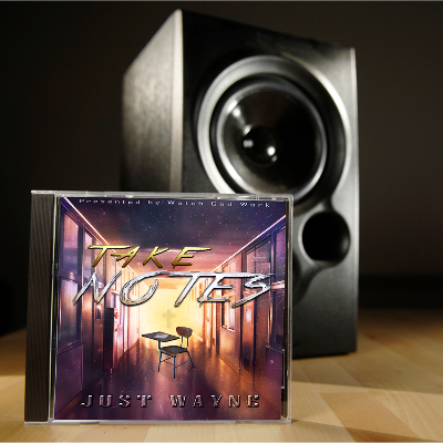 Album Front and After Effects Graphic