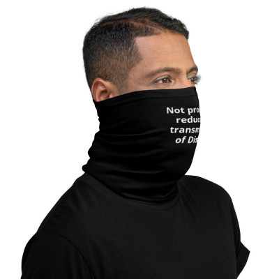 Not Proven to Reduce the Transmission of Disease   color-Black
