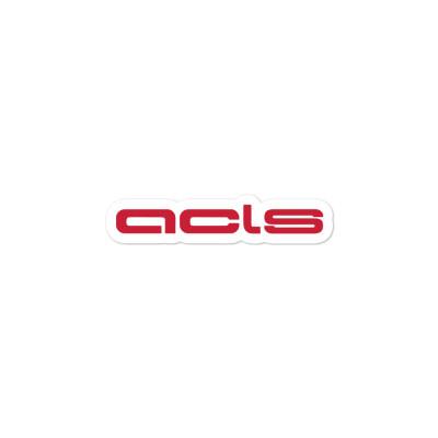 ACLS Sticker