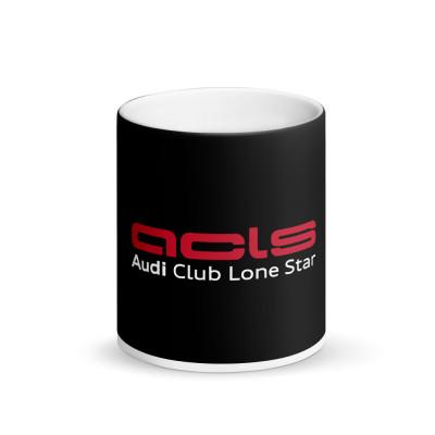 ACLS Matte Black Magic Mug