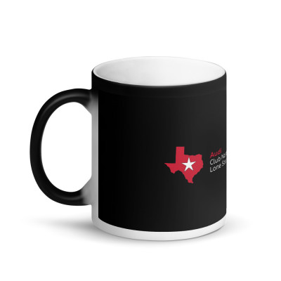 ACLS Matte Black Magic Mug