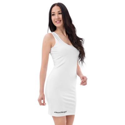 Sublimation-Cut & Sew Kleid, #SchönstesClubmitglied, GC-MST Logo