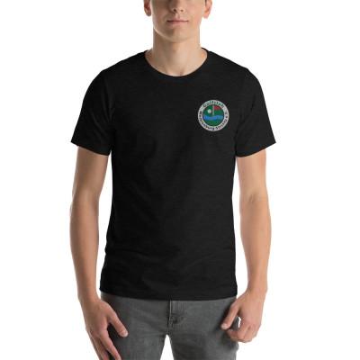 GC-MST Kurzärmeliges T-Shirt, Logo gestickt, bis 4XL