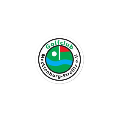 Golfclub-Logo Gestanzte Aufkleber