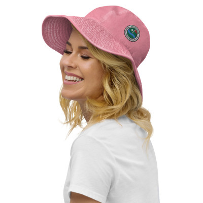 Golfhut (Fischerhut) mit breiter Krempe und GC-MST Logo, gestickt