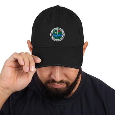 Dad-Hat im Used-Look mit gesticktem GC-MST Logo