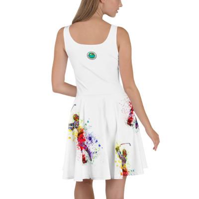 Golfer-Kleid (Skaterkleid) mit GC-MST Logo