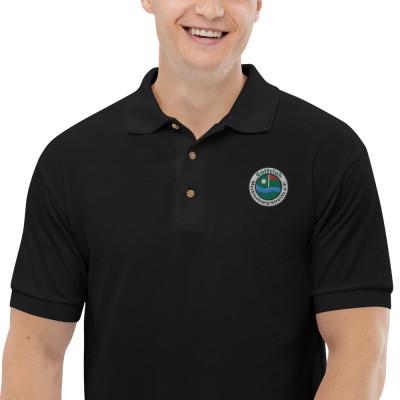 Polo-Shirt, Bestickt mit unserem Logo #LogoOnly