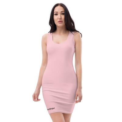 Sublimation-Cut & Sew Kleid PINK mit GC Logo und Golfer