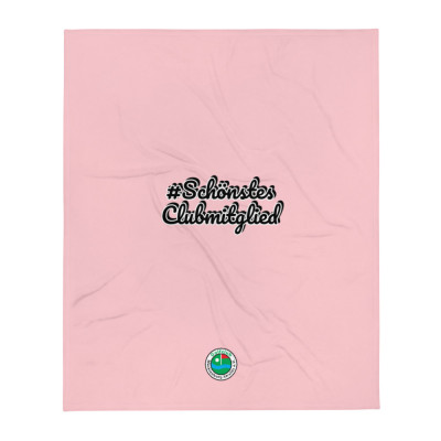 Tagesdecke mit GC-MST Logo, #SchönstesClubmitglied