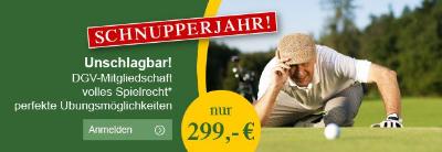 UNSCHLAGBAR, die Aktion - Schnupperjahr im Golfclub MV