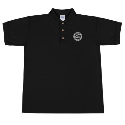 Polo-Shirt, Bestickt mit unserem Logo (monochrom)