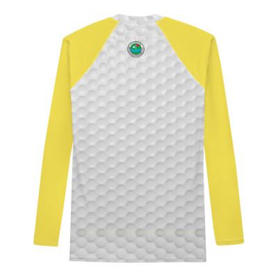 Performance Shirt für die Dame - Wie eine zweite Haut - mit GC LOGO & Ball-Design in gelb