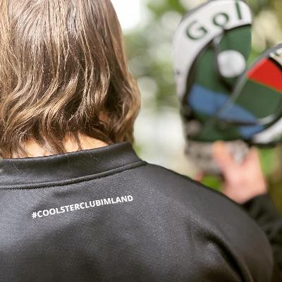 Bomberjacke, #coolsterclubimland mit GC-MST Logo