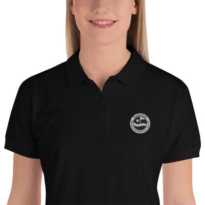 Damen Polo Shirt mit GC-MST Logo Stick