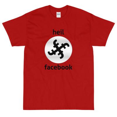 Heil Facebook Short Sleeve T-Shirt