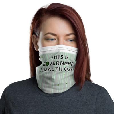 GOVERNMENT HEALTH CARE + humanKAOS ⬆︎⬇︎ Gaiter