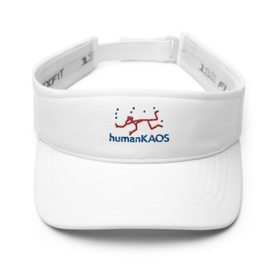 humanKAOS Logo Visor White