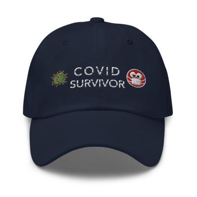 COVID SURVIVOR Cap Dark