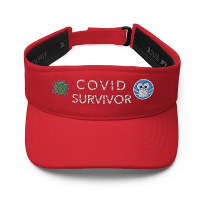 COVID SURVIVOR Visor Dark