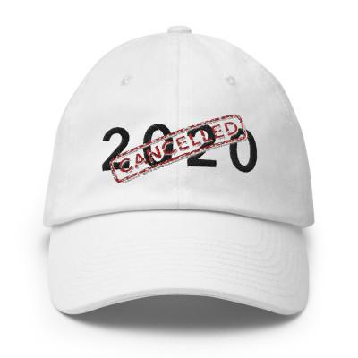 2020 Cancelled Cap White & Blue