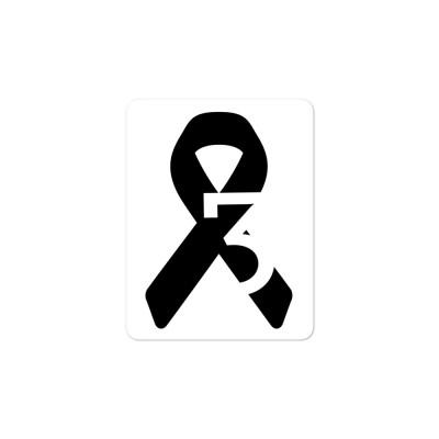 W3S Ribbon Sticker