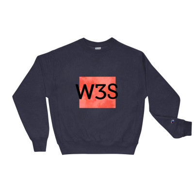 Unisex W3S Clouds Champion Sweatshirt