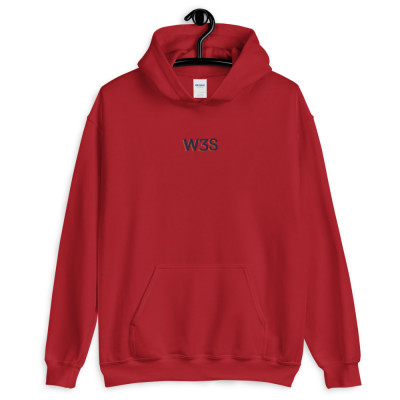 W3S - Center Embroidered Unisex Hoodie