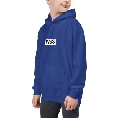 W3S - Box Logo Kids Hoodie
