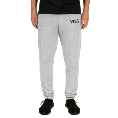 W3S - Embroidered Unisex Joggers
