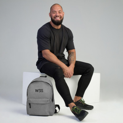 W3S - Embroidered Backpack