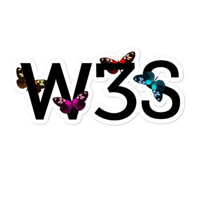 W3S - Butterli3 sticker