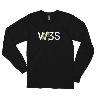 W3S - Sunflow3r Long sleeve t-shirt