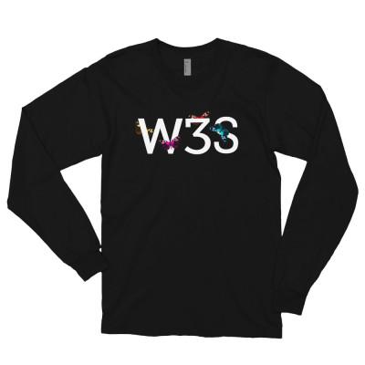 W3S - Butterfli3s Long sleeve t-shirt