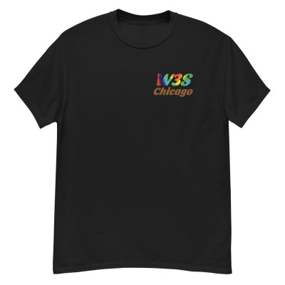 W3S - W3S Chicago Tie Dye Logo Men's heavyweight tee