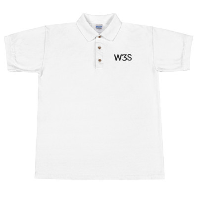 W3S - Embroidered Polo Shirt