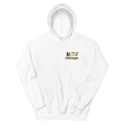 W3S - Tie Dye Chicago Unisex Hoodie