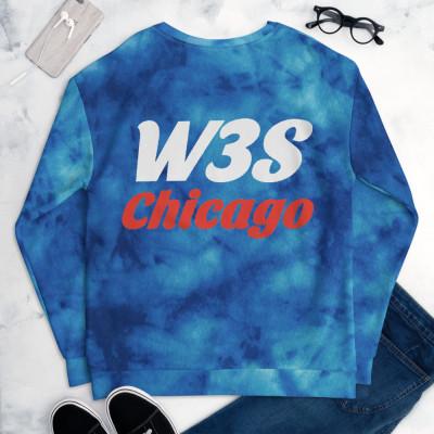 W3S - Tie Dye Chicago Unisex Sweatshirt