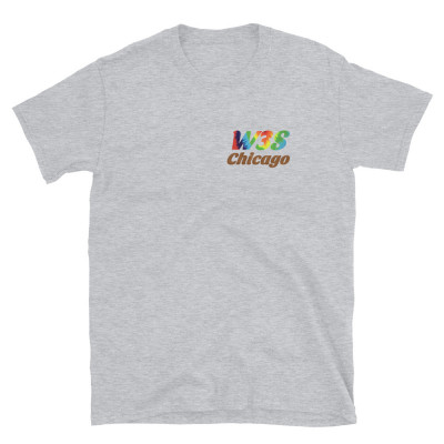W3S - Tie Dye Logo Short-Sleeve Unisex T-Shirt