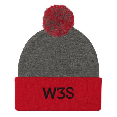 W3S - Pom-Pom Beanie