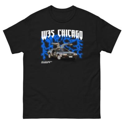 W3S - DeLorean Men's heavyweight tee