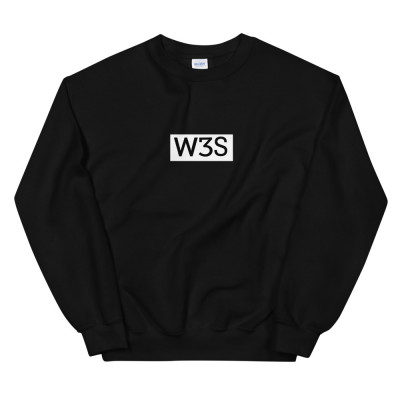 Unisex W3S Box-Logo Sweatshirt