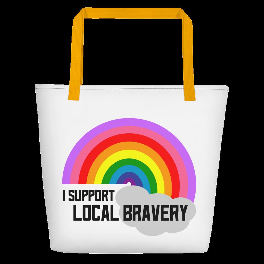 Rainbow Honor Student Beach Bag
