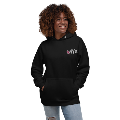 ONYX Embroidered Hoodie